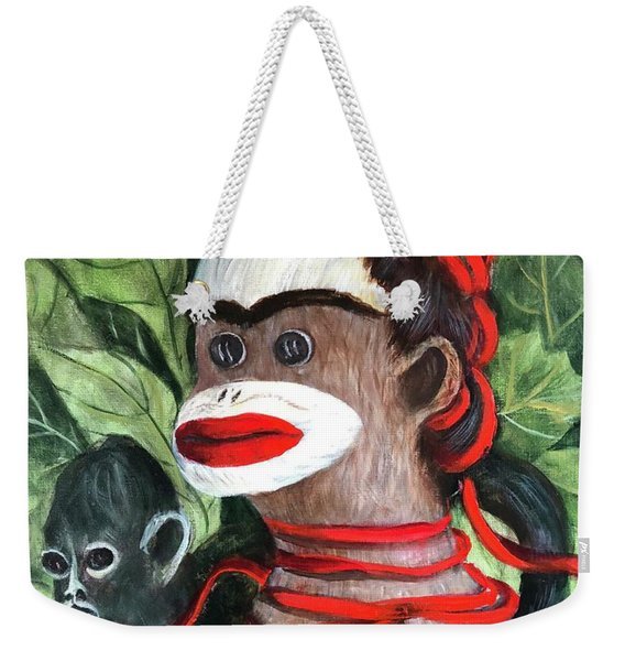 With Love To The Artist Frida Kahlo Weekender Tote Bag