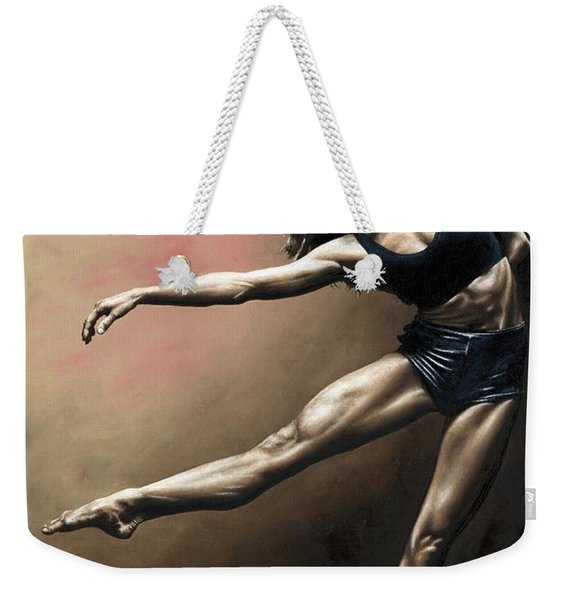 With Strength And Grace Weekender Tote Bag