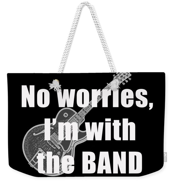 With The Band Tee Weekender Tote Bag