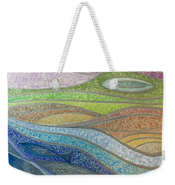 With The Flow Weekender Tote Bag