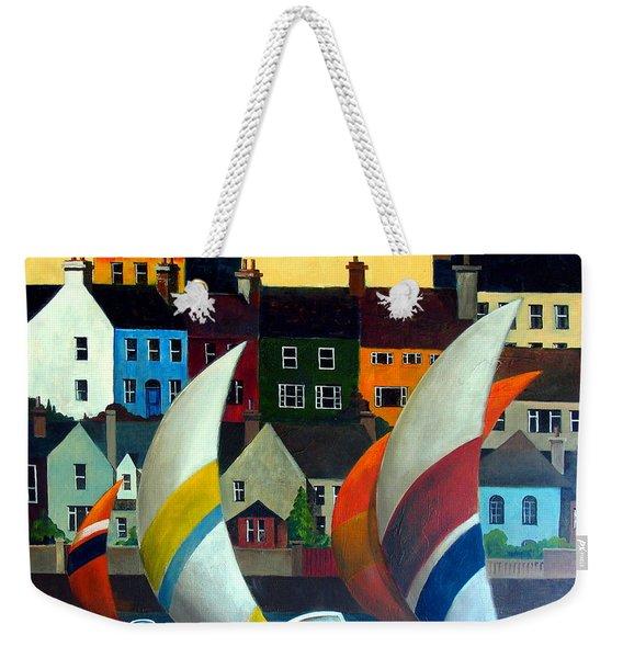 With The Wind In Kinsale, West Cork Weekender Tote Bag