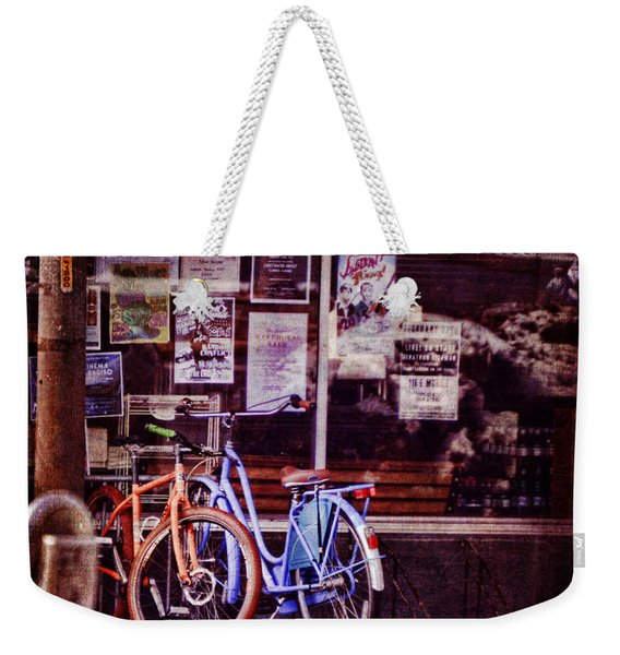 With You By My Side Weekender Tote Bag