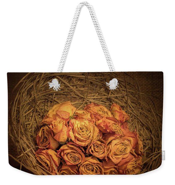 Withered Roses Weekender Tote Bag