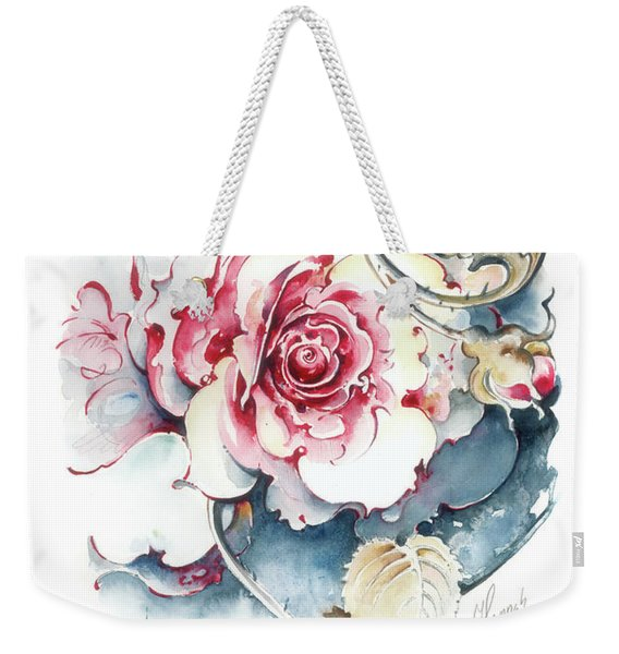 Without Fear Of The Storm Weekender Tote Bag