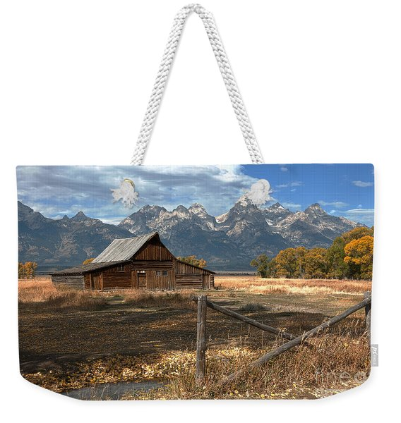 Withstanding The Test Of Time Weekender Tote Bag