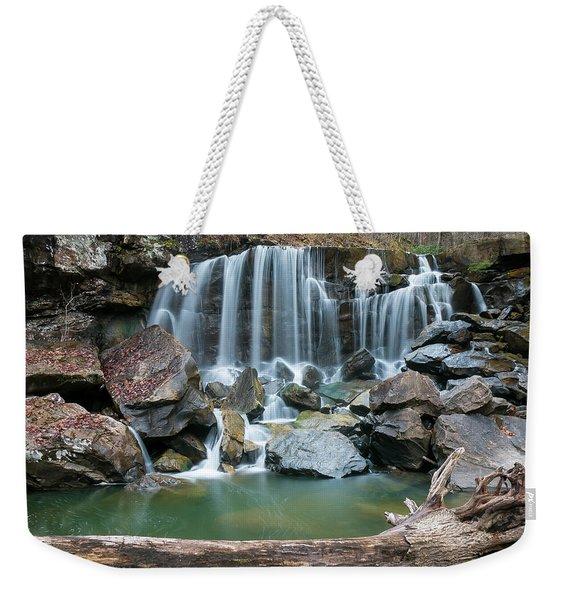 Wolf Creek Falls Weekender Tote Bag