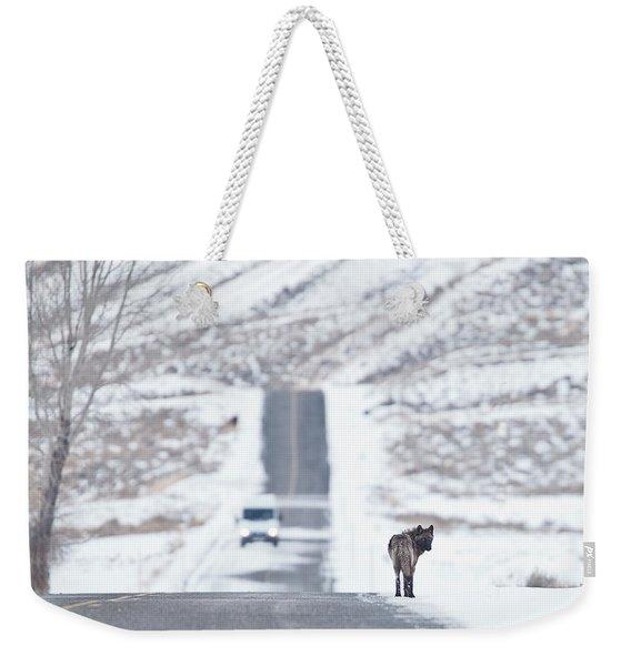 Wolf Land Weekender Tote Bag
