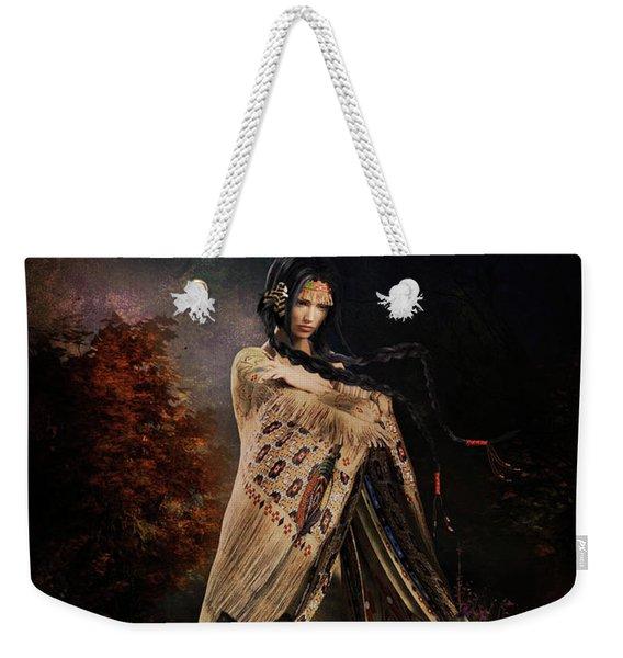 Wolf Song Weekender Tote Bag