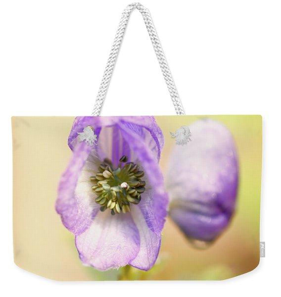 Wolf's Bane Flower With Pistils Weekender Tote Bag