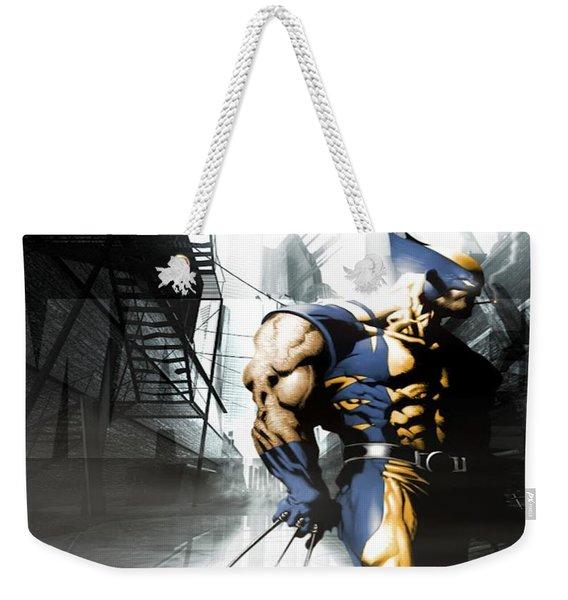 Wolverine Weekender Tote Bag