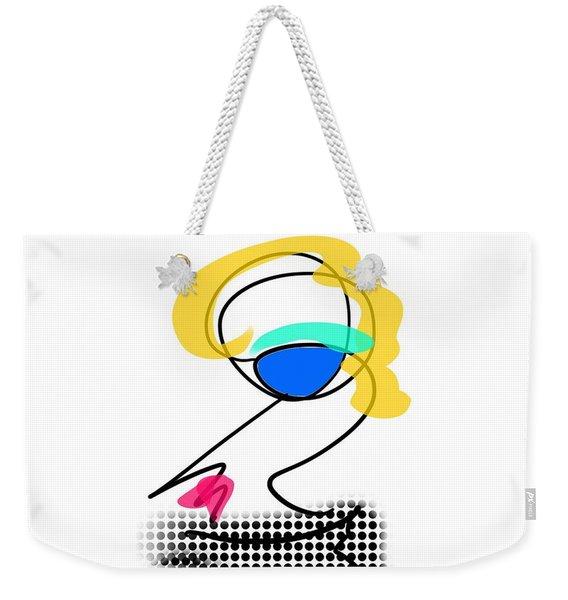 Woman 2 Weekender Tote Bag