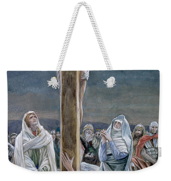 Woman Behold Thy Son Weekender Tote Bag