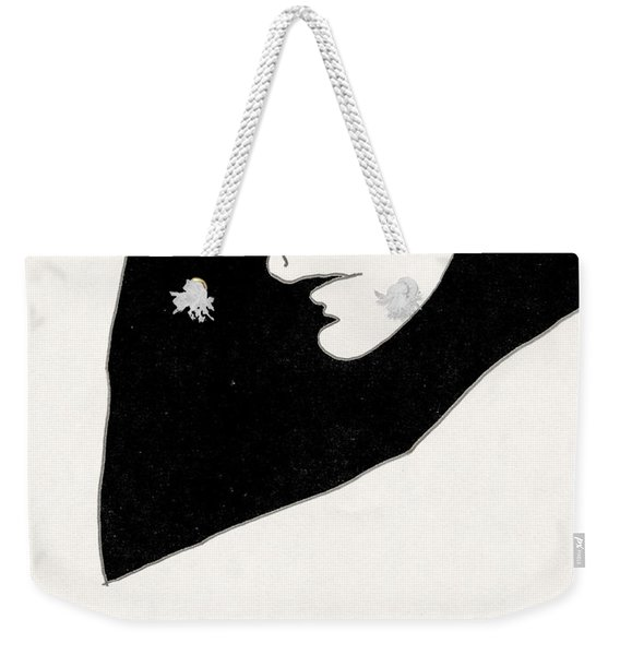 Woman In Shadows Weekender Tote Bag