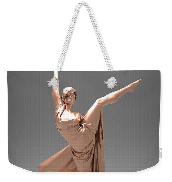 Woman Lamp Number Three Weekender Tote Bag