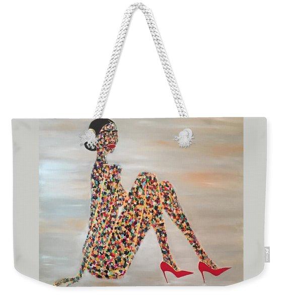 Woman Of Color Weekender Tote Bag