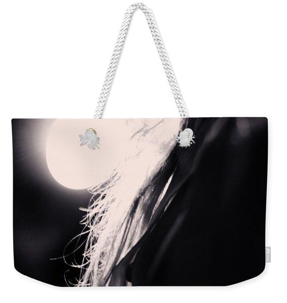 Woman Silhouette Weekender Tote Bag