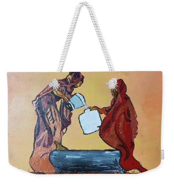 Woman's Worth - 3 Weekender Tote Bag