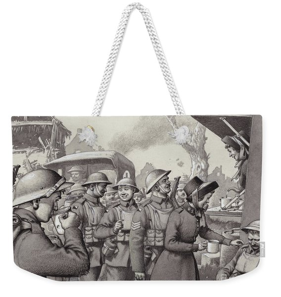 Women From The Salvation Army During The Great War Weekender Tote Bag