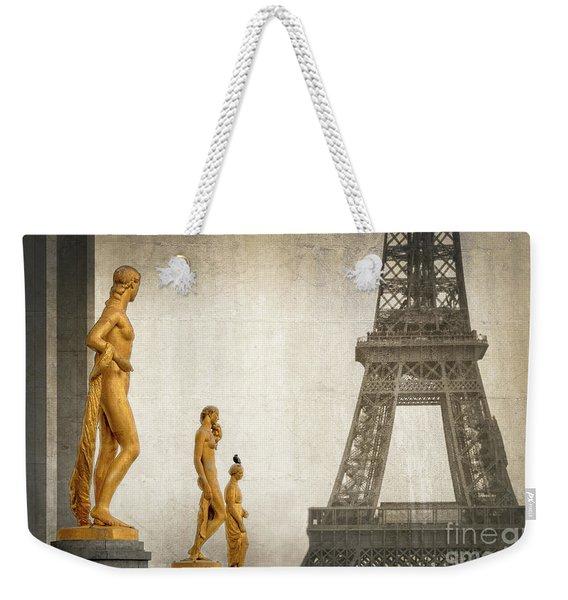 Women Of Paris Weekender Tote Bag