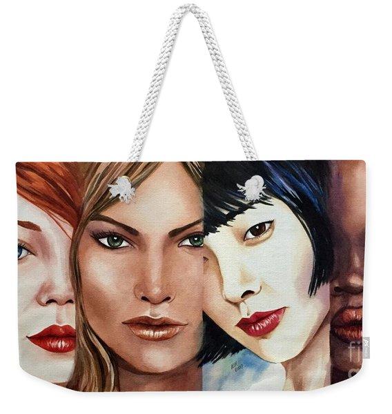 Women Of The World Weekender Tote Bag