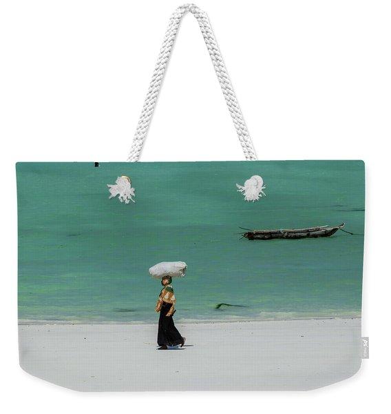 Women Worker Weekender Tote Bag
