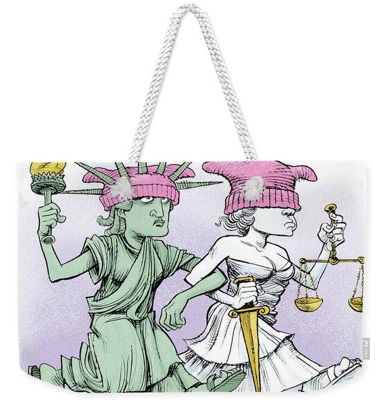 Women's March On Washington Weekender Tote Bag
