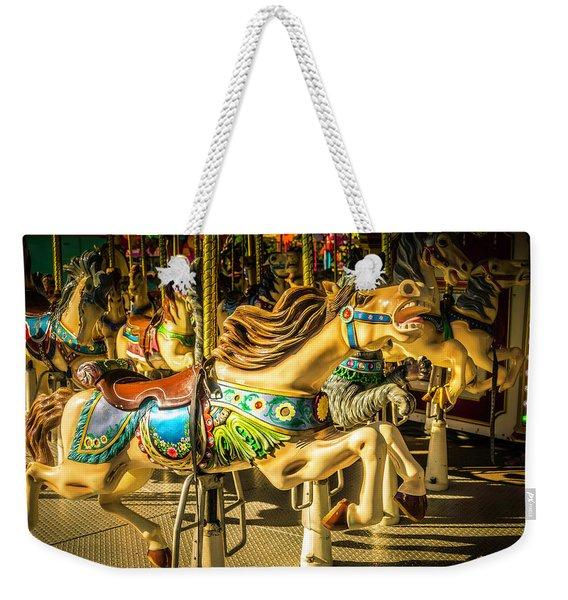 Wonderful Horse Ride Weekender Tote Bag