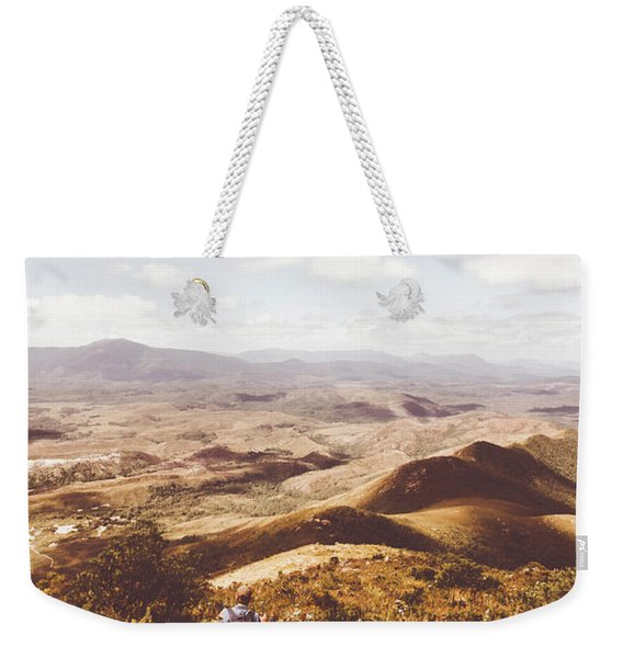 Wonderful West Coast Tasmania Views Weekender Tote Bag