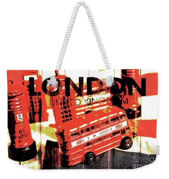 Wonders Of London Weekender Tote Bag