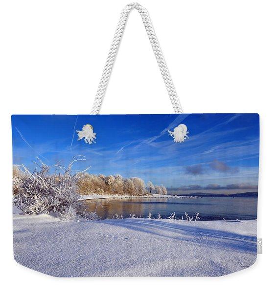 Wondrous Winter Weekender Tote Bag