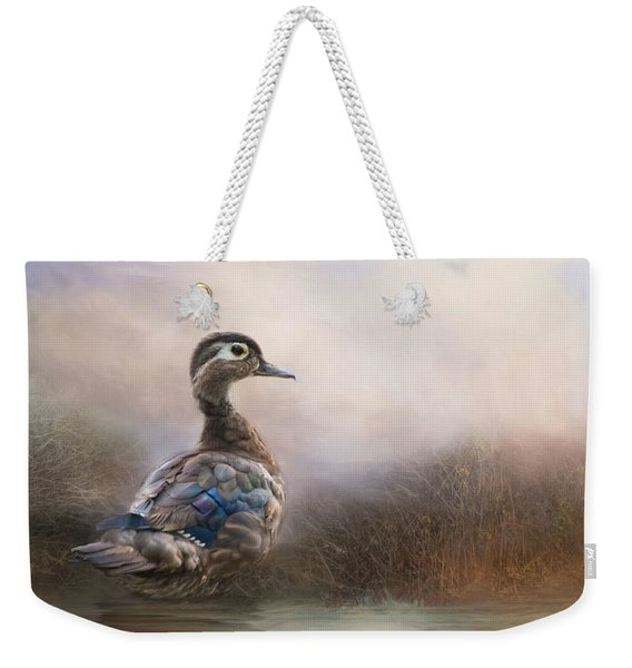 Wood Duck Too Weekender Tote Bag