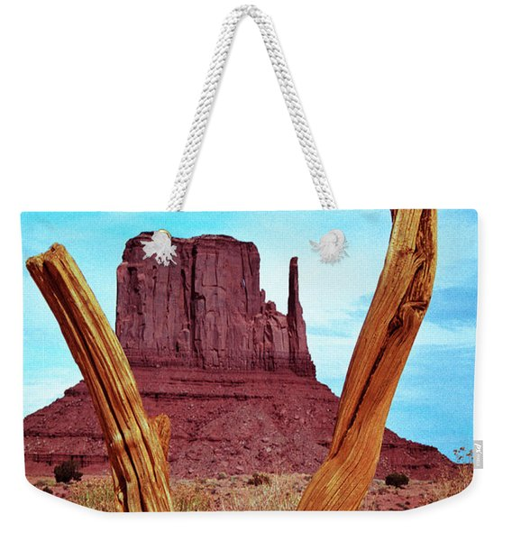 Wood 'n Mitten Weekender Tote Bag