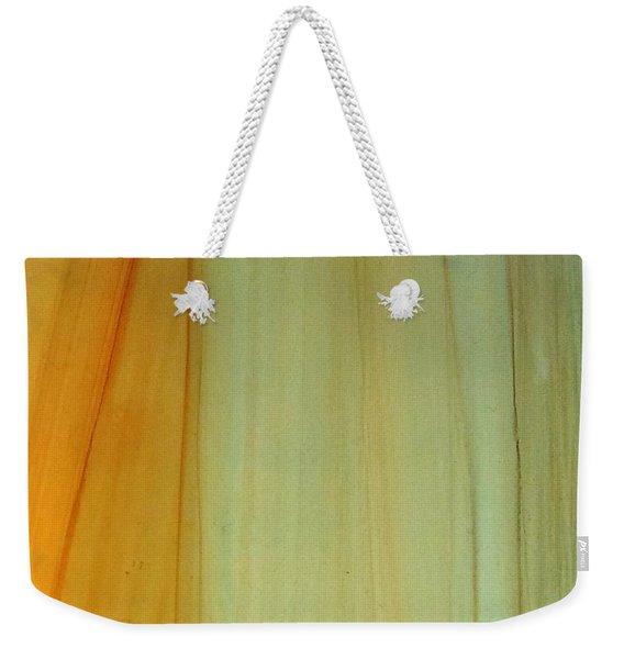 Wood Stain Weekender Tote Bag
