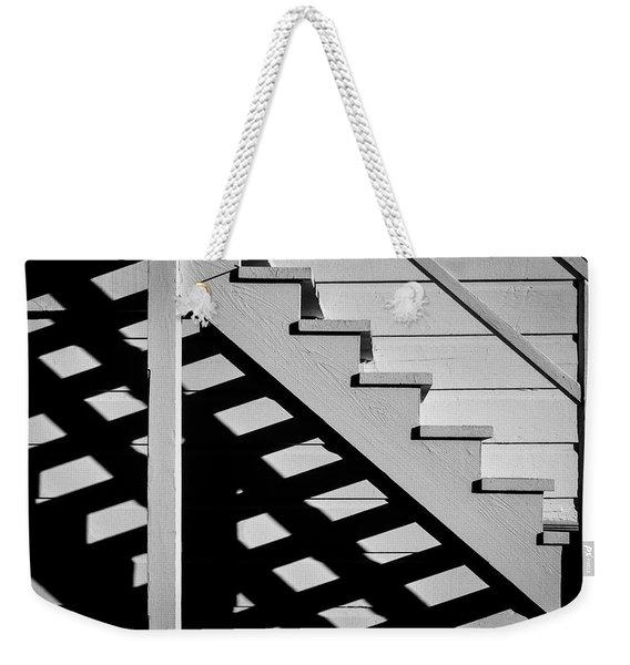Wooden Stairs Weekender Tote Bag
