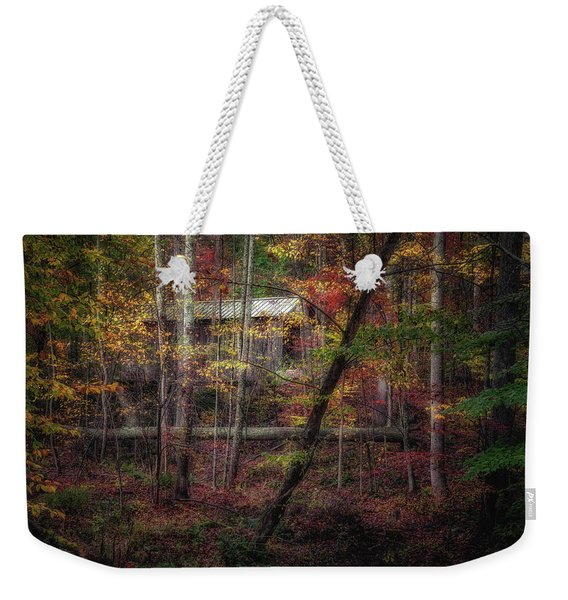 Woodland Bridge Weekender Tote Bag