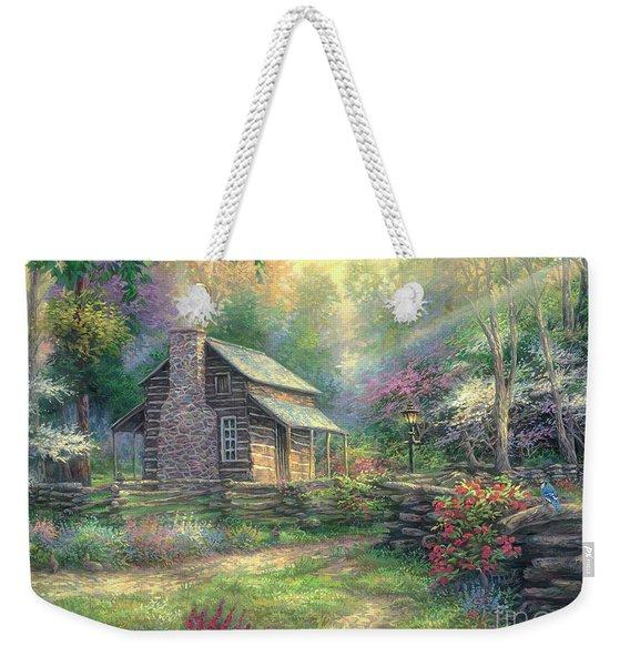 Woodland Oasis Weekender Tote Bag