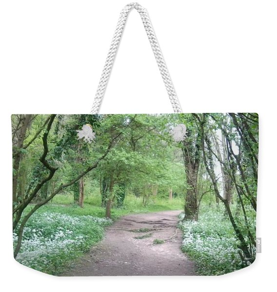 Woodland Path 1 Weekender Tote Bag