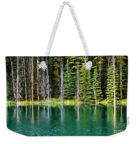 Woodland Reflections Weekender Tote Bag
