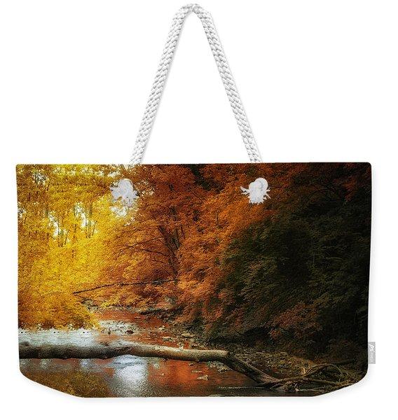 Woodland Stream Weekender Tote Bag