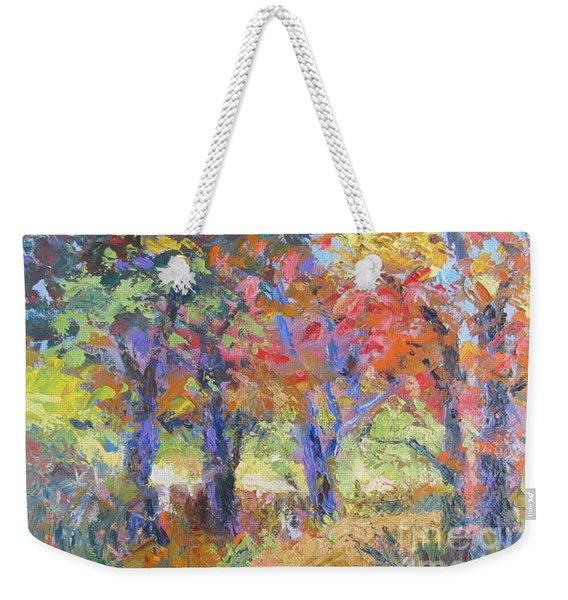 Woodland Walk Weekender Tote Bag