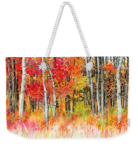 Woodsy Forest Weekender Tote Bag