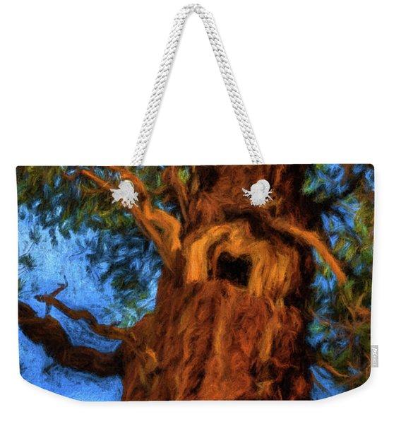 Wooly Bear Tree Weekender Tote Bag