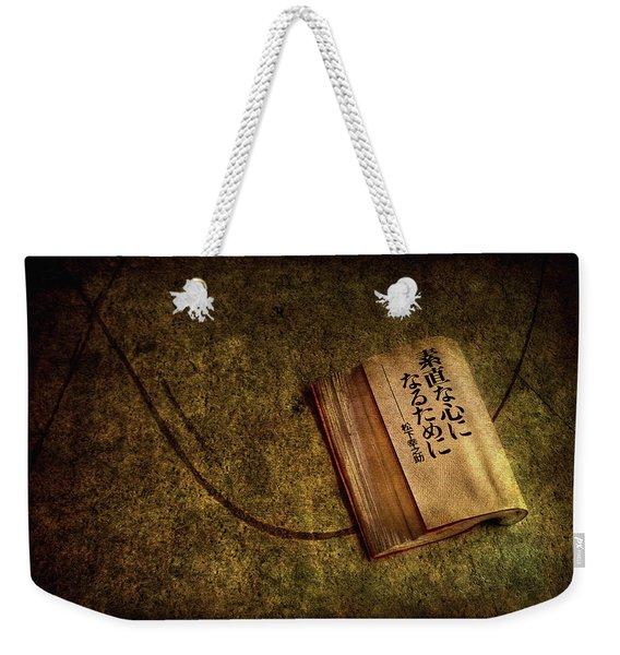 Words Of Wisdom Weekender Tote Bag