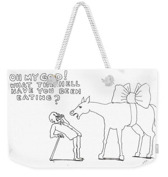 Words To Live By Weekender Tote Bag