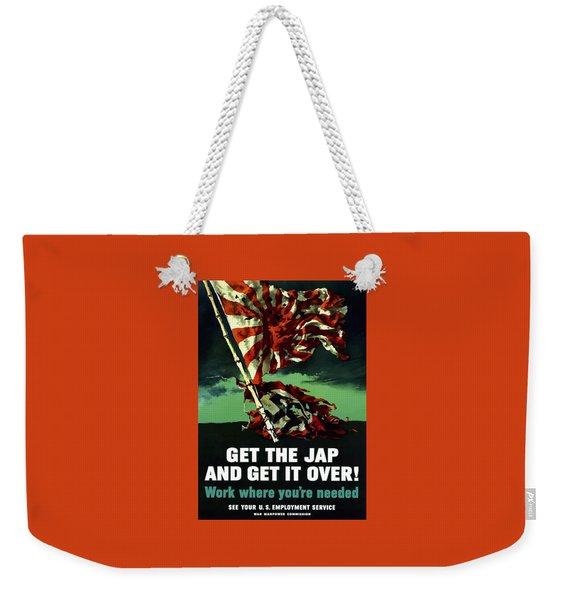 Work Where You're Needed -- Ww2 Weekender Tote Bag
