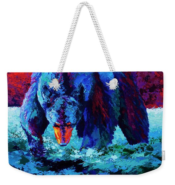 Working The Shallows Weekender Tote Bag