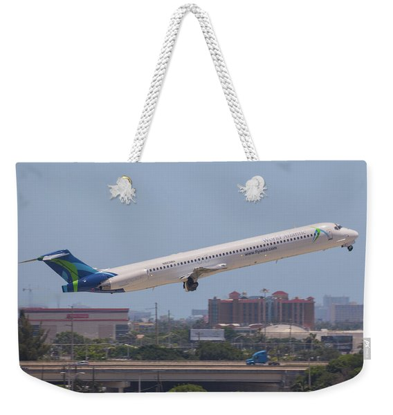 World Atlantic Airways Weekender Tote Bag