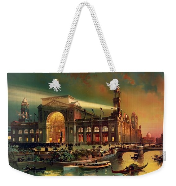 World Columbian Exposition - Chicago Illinois 1892 Weekender Tote Bag