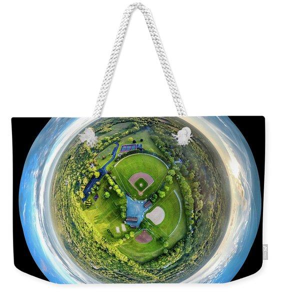World Of Baseball Weekender Tote Bag