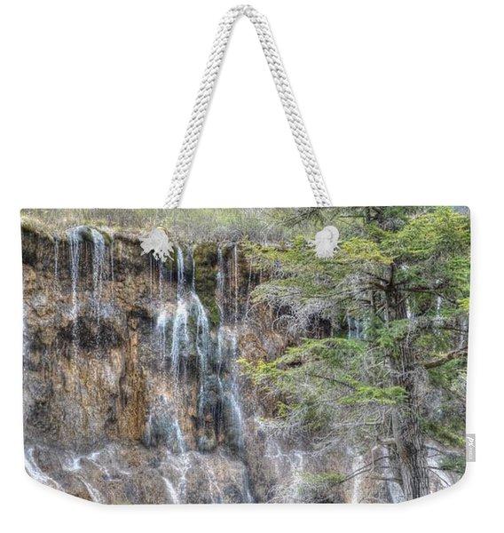 World Of Waterfalls China Weekender Tote Bag